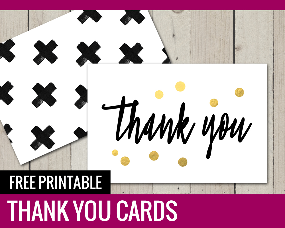 It is an image of Lively Thank You Cards Printable Free